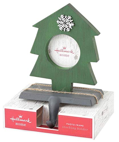 Holder Stocking Frame Photo - Hallmark Home Christmas Tree Photo Frame Stocking Holder, Set of Two