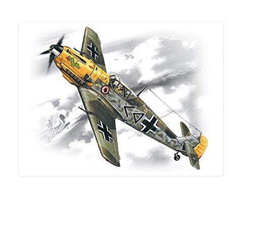 ICM Models Luftwaffe Bf 109E-4 Building Kit