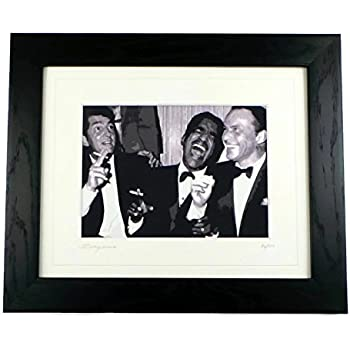 Amazon.com: The Rat Pack Limited Edition Framed Art Print by ...