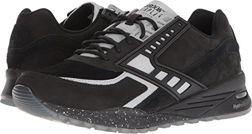 Brooks Heritage Mens Regent Black/Silver 9 D US errJQFg