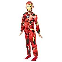 Rubie's 640830S - Disfraz infantil oficial de Marvel Avengers Iron Man (talla única) , color/modelo surtido