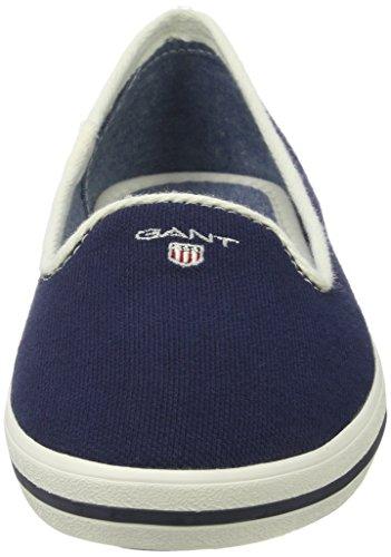 Gant Damen New Haven Slipper Blau (marineblauw)