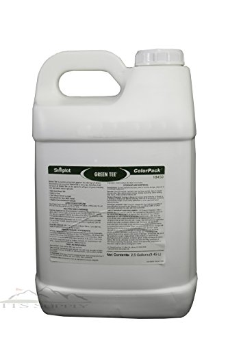 Green Tee Turf Colorant Lawn Paint 2.5 Gallons Covers 15,000 to 30,000 square feet-Concentrated and professional grade colorant to improve the look of your lawn by ITS Supply