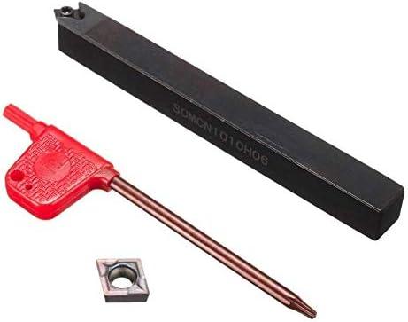 耐久性のあるSCMCN1010H06旋盤ボーリングバー旋削工具ホルダーCCMT060204インサートレンチDIY木工旋盤
