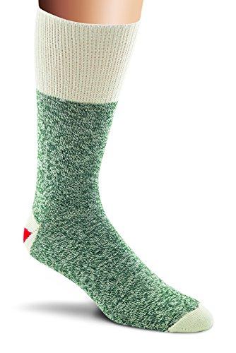 Fox River Inventive Rockford Red Heel Lightweight Monkey Socks (2 Pack), GREEN, Medium