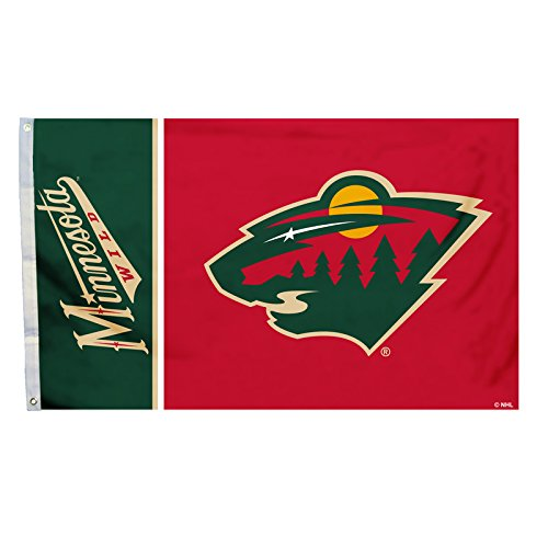 NHL Minnesota Wild Flag Grommetts (3 x (Minnesota Wild Flag)