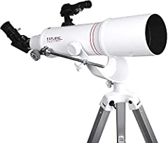 Explore Scientific first light 90mm Refractor with AZ mount High quality optics for astronomy, science, and outdoor arenas explore scientific offers superior and high quality astronomical instruments designed and manufactured in our own facil...