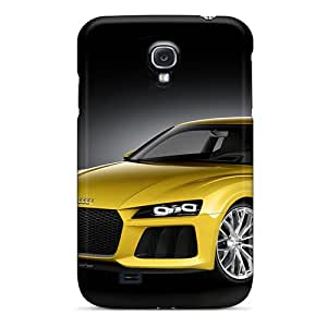 Tpu RomeoJr Shockproof Scratcheproof Audi Sport Quattro Concept Hard Case Cover For Galaxy S4