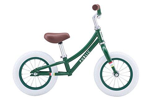 PUBLIC Bikes Kids Mini Balance Bike, Green