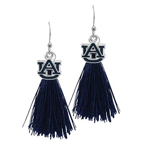 SANDOL Auburn Tigers Tassel Earrings ()