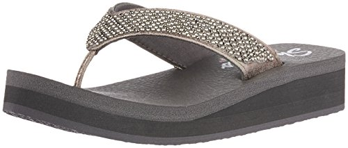 Beach Vinyasa Pewter Skechers League 31600 Grigio gzC6O