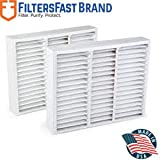 """Honeywell FC100A1011 Compatible 20"""" x 20"""" x 5"""" (Actual Size: 19 1/2"""" X 20"""" X 4 3/8"""") , 2-Pack MERV 11 by Filters Fast"""