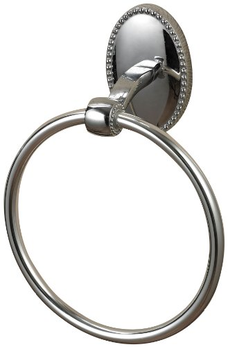 STERLING 131-013 Zinc Metal Bath Towel Ring, Chrome ()