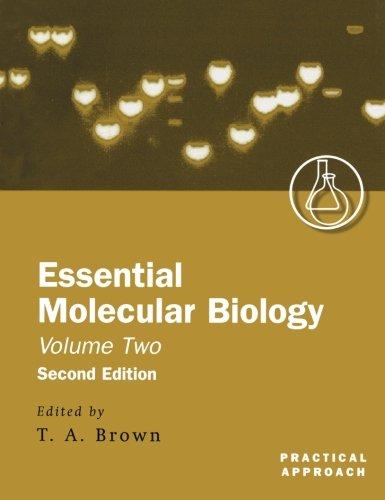 002: Essential Molecular Biology: A Practical Approach Volume II (Practical Approach Series)