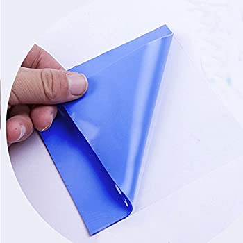 Wathai Blue 100x100x2mm 2mm Silicone Pad Thermal Conductivity 1.5 W/mk Thermal pad For GPU CPU PS3 PS2 Xbox Heatsink Cooling
