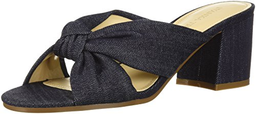 (Ivanka Trump Women's EARIN Slide Sandal, Blue/Multi, 6 M US)