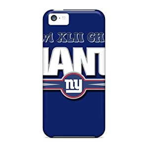 Pretty LCA19014NVvN Iphone 5c Cases Covers/ New York Giants Series High Quality Cases Black Friday