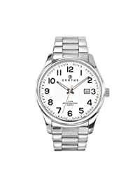Certus Men's White Dial Date Watch