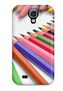 Hot New Pencils Heart Case Cover For Galaxy S4 With Perfect Design