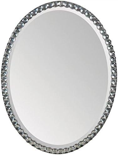 Ren-Wil MT891 Wall Mount Mirror by Jonathan Wilner and Paul De Bellefeuille, 32 by 24-Inch