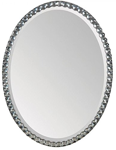 Ren-Wil MT891 Wall Mount Mirror by Jonathan Wilner and Paul De Bellefeuille, 32 by 24-Inch