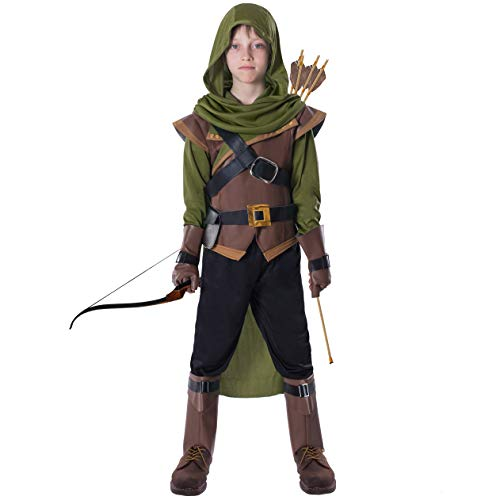 Child Robin Costume (Spooktacular Creations Robin Hood Child Costume (Small (5-7yr)))