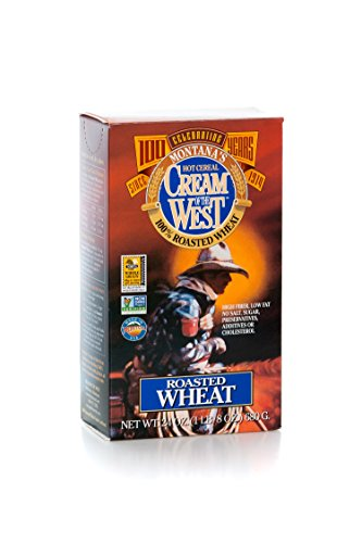Roasted Natural - Cream of the West All Natural 100% Whole-Grain Roasted Wheat Hot Cereal