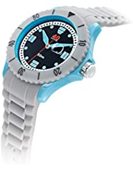 40Nine Unisex 40NINE02/COOLGREY10 Large 45mm Analog Display Japanese Quartz Grey Watch