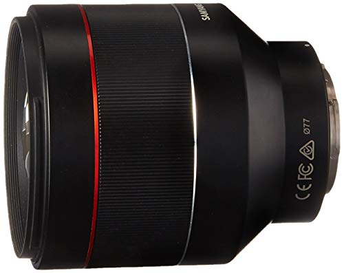 Samyang SYIO85AF-E 85mm F1.4 Auto Focus Weather Sealed Lens for Sony E-Mount