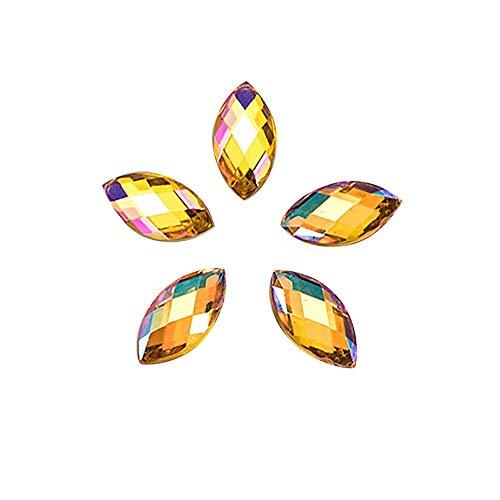 utda.sh-fs women's nails 500Pcs 3D Gold Silver Nail Art Glitter Transfer Metallic Nail Stickers Rhinestones Flower Dream Catcher (F)