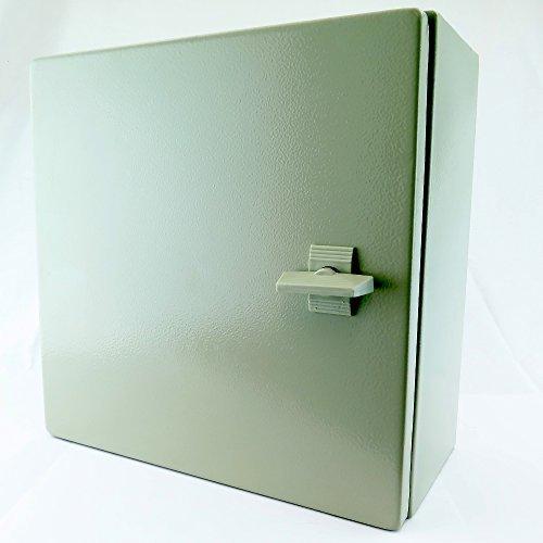 YC-16X16X6 (400)X(400)X(150) Yuco IP65 16 GAUGE SINGLE DOOR HINGE COVER WALL MOUNT ENCLOSURE by Yuco