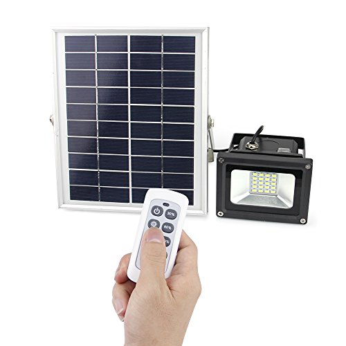 Solar Powered Flood Lights Outdoor Remote control solar flood light lineway 10w 450 lumen outdoor remote control solar flood light lineway 10w 450 lumen outdoor waterproof dimmable solar powered flood light for gardenyardpatioswimming poolbarbeque workwithnaturefo