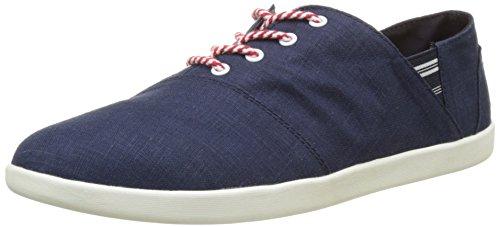 TBS Technisynthese Teodora R7, Zapatos de Cordones Derby para Mujer azul (Marine)