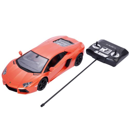 1:14 Lamborghini Aventador LP700-4 Radio Remote Control RC Car Orange New by Unbranded*