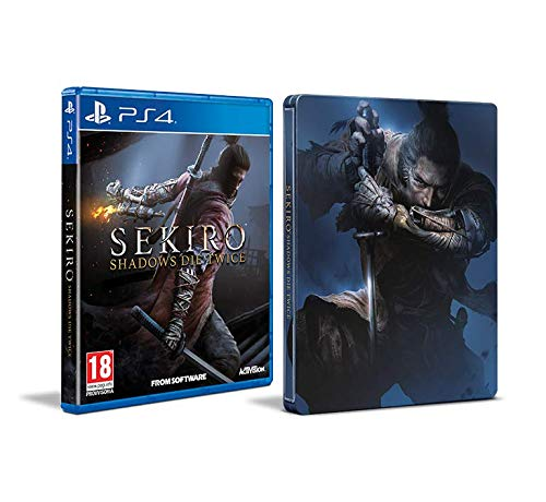 activision sekiro steelbook  Sekiro: Shadows Die Twice - Steelbook Edition - PlayStation 4 ...