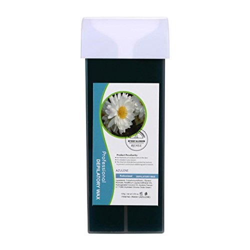 hunpta depilatory Wax Cartridge, Roll On Hot depilatory Wax Cartridge Heater Waxing Hair Removal Remove Purple