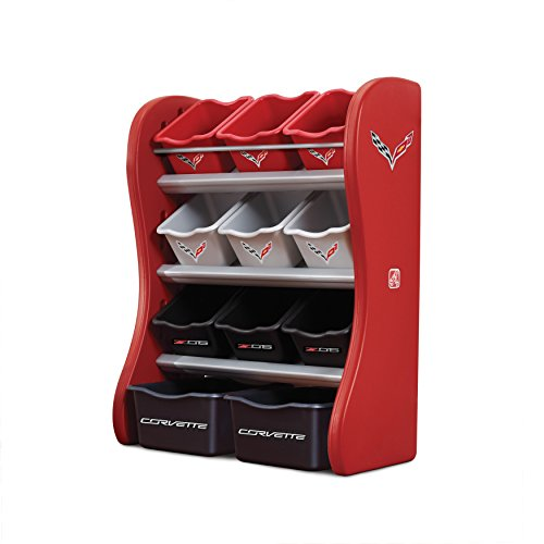 Step2 Corvette Kids Room and Toy Organizer