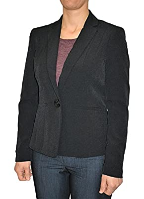 Alfa Global Women's Plus Size Casual Black Color Blazer