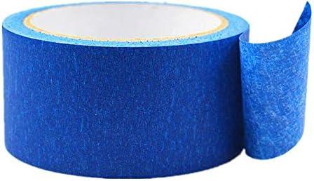 azul Cinta de carrocero TOOLSTAR para pintores de f/ácil liberaci/ón sin rastros cinta de carrocero para pintura y decoraci/ón