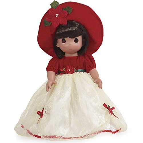 The Doll Maker Precious Moments Dolls, Linda Rick, Most Wonderful Time of The Year, Blonde, 16 inch Doll