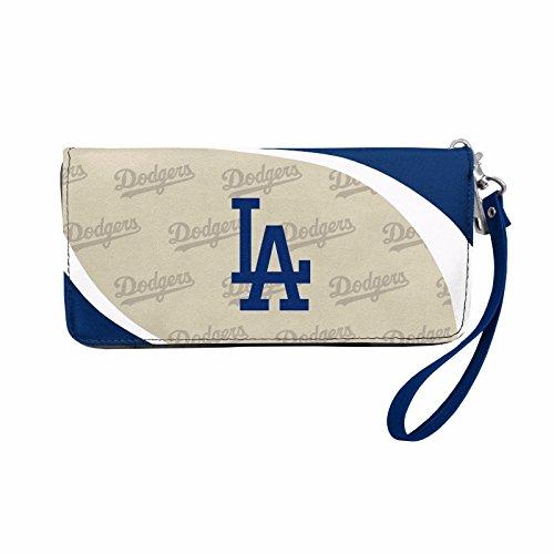 LA Dodgers Women's Curve Zip Organizer Wallet, 8
