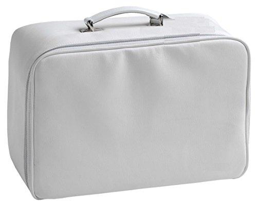 Pequeños Estilos de vida - Maleta Monroe para el parto, la provisión de los bolsillos de almacenamiento de Internet y asa de transporte conveniente, 50 x 22 x 35 cm, color: Blanco
