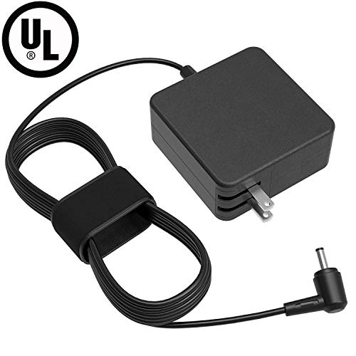 UL Listed 7.54Ft AC Charger for Asus F510 F510UA F510U F556 F556U F556UA F553 F553M F553MA F402BA F402B F402 F402BA-EB91 X202E X202 X201E X201 Laptop Extra Long Power Supply Adapter Cord