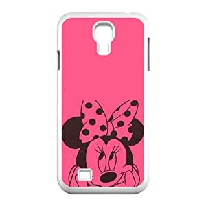 Samsung Galaxy S4 9500 Cell Phone Case White Disney Mickey Mouse Minnie Mouse Z0026092