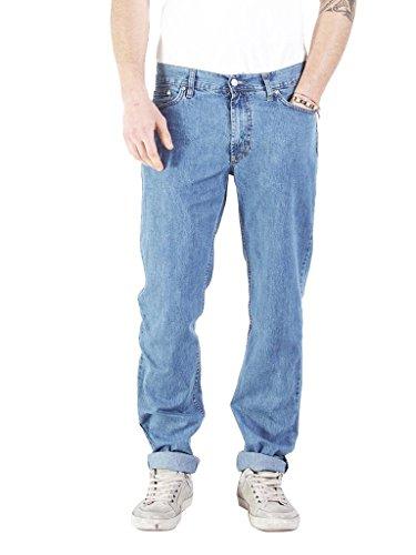 Basic Wash Carrera Lavaggio super Uomo A Stone Blu Dritta Gamba Chiaro 500 Jeans nABUT