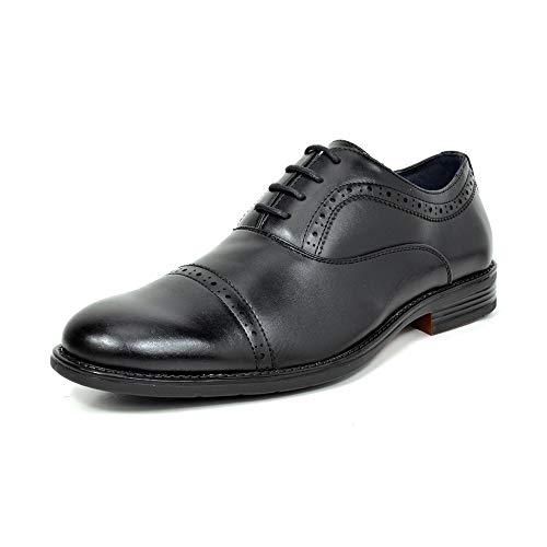 Bruno Marc Men's HALSTED-02 Black Dress Oxfords Shoes Size 11 M US