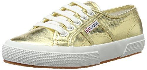 Superga donna S002HG0 Oro COTMETU 2750 Sneaker Gold rwOIrqA