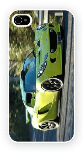 Lotus Elise Lime, iPhone 5 5S, Etui de téléphone mobile - encre brillant impression