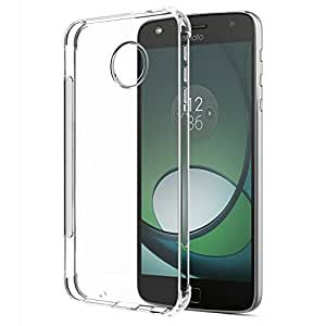 SPARIN [2 Pack] Moto Z Play Case, [Lightweight] [Anti Scratch] TPU Case for Motorola Moto Z Play Android, Not for Moto Z2 Play