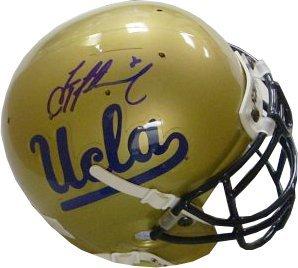 Troy Aikman Signed Mini Helmet - Authentic - Autographed NFL Mini Helmets by Athlon